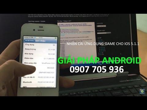 cài game ứng dụng iPhone/iPad 5.1.1