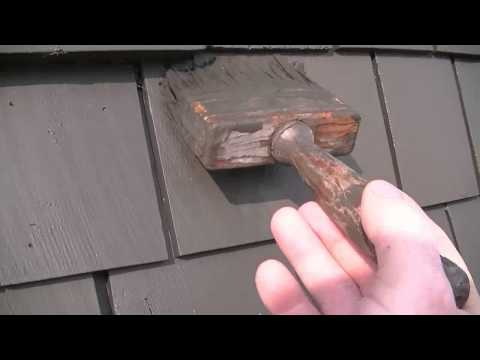 How To Stain Cedar Shakes Or Siding