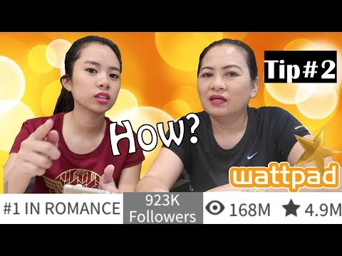 How To Get More Reads and Followers on Wattpad - Tip#2