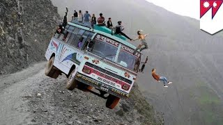 Dangerous Road Accident (Always Drive Safe)
