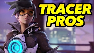What Pros Do On TRACER - Overwatch