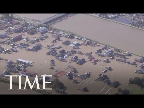 Xxx Mp4 Japan Looks For Missing People After Typhoon Hagibis Leaves Several Dead TIME 3gp Sex