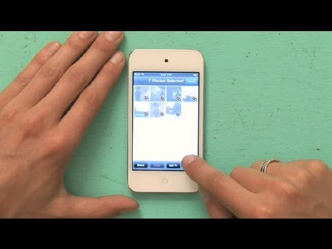 How to Delete Photos on iPod Touch : Using an iPod Touch