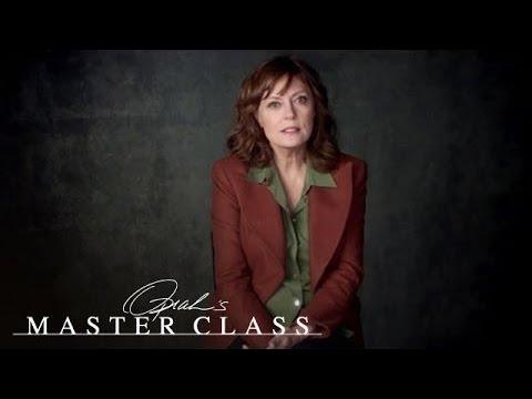 Susan Sarandon on an Unplanned Pregnency   Oprah's Master Class   Oprah Winfrey Network