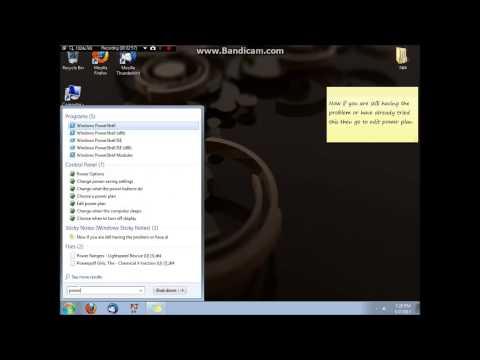 Windows 7 sleep problem fix