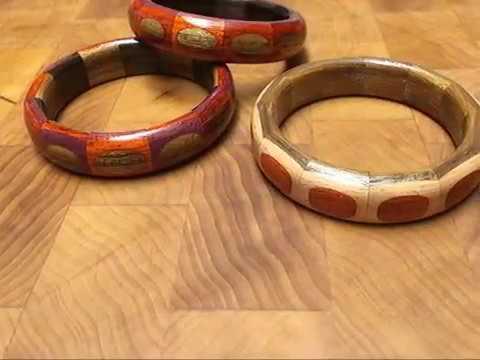 segmented bangle bracelet
