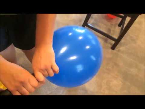 How to blow up a balloon QUCK AND EASY with DEWALT Compact Jobsite Blower Tutorial