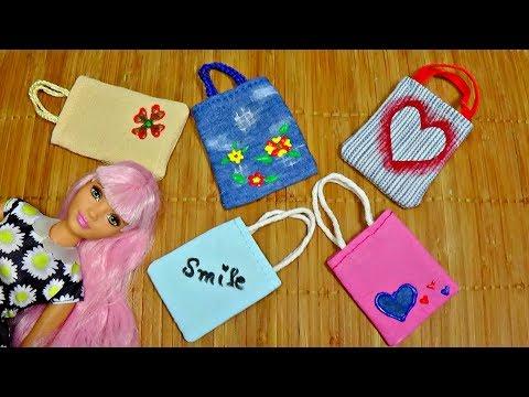 Diy doll bag │ How to make bag for Barbie │ DIY For Dolls