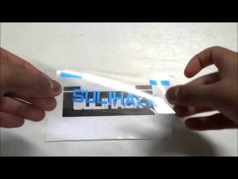 Multi-Color Cut Vinyl Decal Tutorial