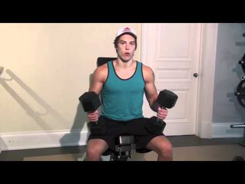Incline Dumbbell Curls for Rock Hard Biceps