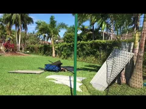 Do It Yourself Batting Cage