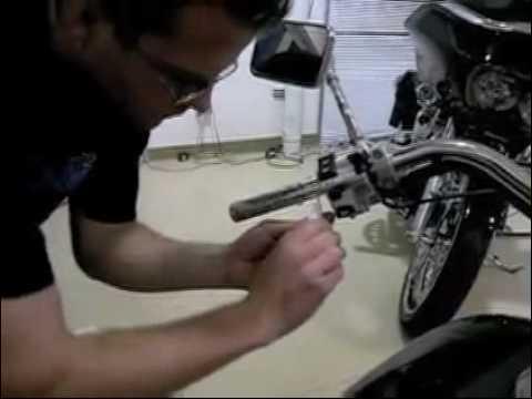 Kuryakyn 6240 Universal ISO Grip Video Install Honda Motorcycles