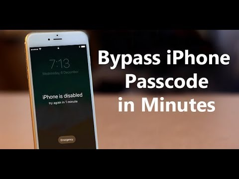 Forgot iPhone Passcode or iPhone is Disabled?How to Unlock it without iTunes?