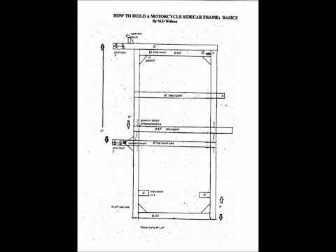 How to build a motorcycle sidecar frame booklet