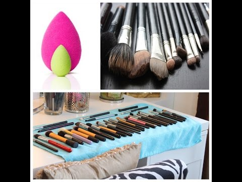How to: Clean your Beauty Blender & Makeup Brushes