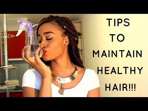 9 TIPS TO MAINTAIN HEALTHY HAIR!!