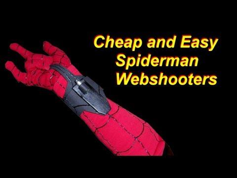 Spiderman Costume Tutorial: DIY Web Shooters