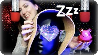 ASMR Good Sleep Sounds 💤 Cork Sheet, Silicone Mat, Tapping, Crinkles, Tingly Frogs, Chalk, Bob +