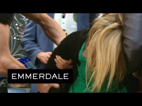 Emmerdale - Laurel Ruins The Party With Her Drinking