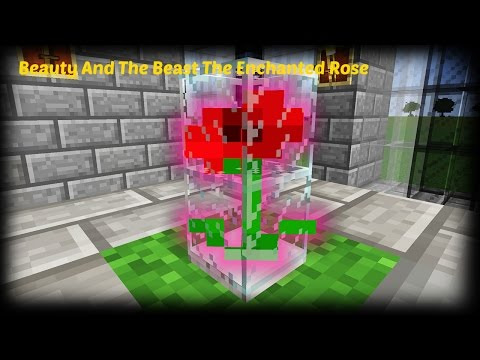 Minecraft - How To Make The Enchanted Rose From Beauty And The Beast