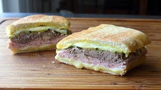 The Cuban Sandwich - How to Make a Cubano Sandwich