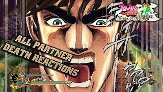 Partner Death Interactions (& Unused Voices) | JoJo's Bizarre Adventure: Eyes of Heaven