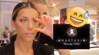I GOT MY MAKEUP DONE AT ANASTASIA BEVERLY HILLS COUNTER