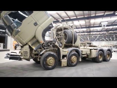MAN 8x8 Prime Mover - Ex-Military Vehicles