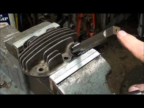 SHOP TIPS #210 Using a HELICOIL to Repair a Spark Plug Thread tubalcain