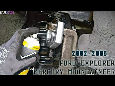UPPER CONTROL ARM REPLACEMENT (2002-'05 MERCURY MOUNTAINEER)