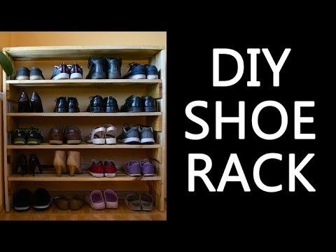 DIY SHOE RACK (PALLET WOOD)