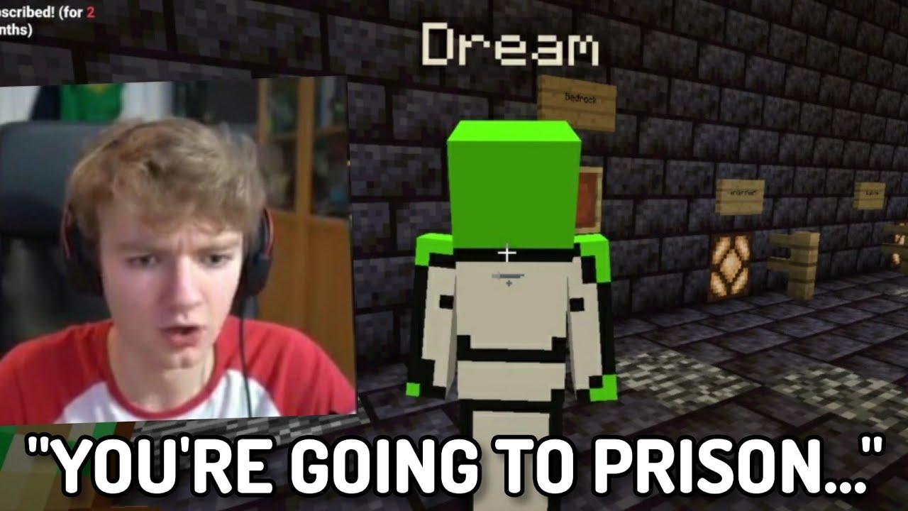 Tommyinnit sends Dream to PRISON... (Dream SMP Finale)