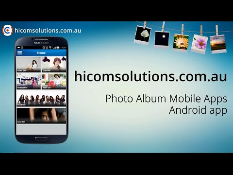 Photo Album android app source code for sale