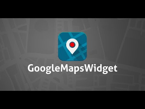 Google Maps Widget for WordPress (free plugin)