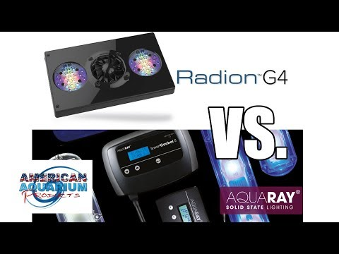 EcoTech Radion Gen 4 vs. AquaRay LED Review