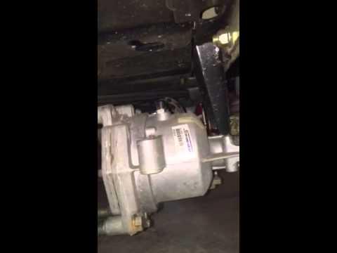 Craftsman ztl7000 transaxle leak relair hydro gear