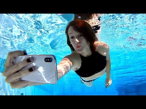 iPhone X Underwater Face ID Test!