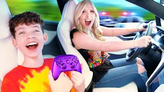 I Let My Kid Brother Control My Life For 24 Hours! - Challenge