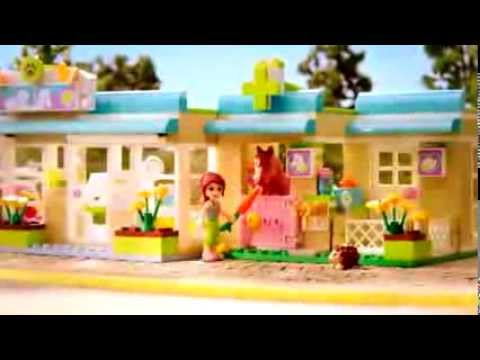 Heartlake City - Ride to the Vet - Lego Friends - TV Toy Commercial - TV Spot - TV Ad - 2012