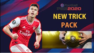 BLACK BALL TRICK IN GOLD BALL PACK PES 2020 MOBILE | BUG NEW