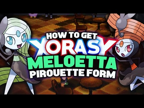 How to get MELOETTA PIROUETTE FORM + RELIC SONG in Pokemon XY/ORAS! Pokemon XY ORAS Tutorial Guide!