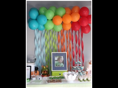 DIY: No Helium Balloon Ideas