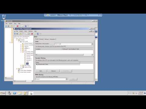 create Group Policy and Link it to OU