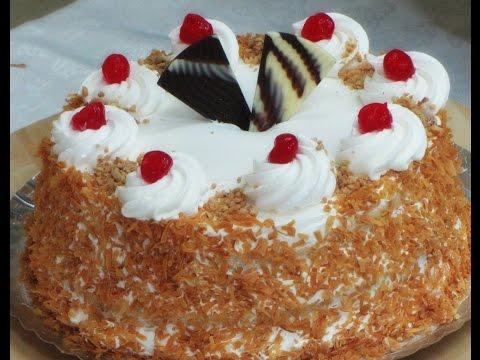 How To Make a Vanilla Strawberry Cake