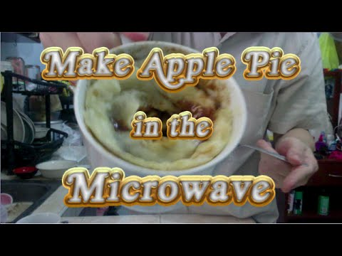 Make an Apple Pie in the Microwave, Cebu City, Philippines