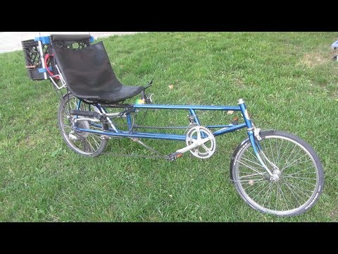 Lightning Tailwind Micro Recumbent Bike