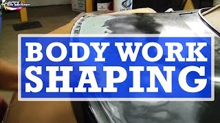 Auto Body Work Shaping And Installing A Body Kit