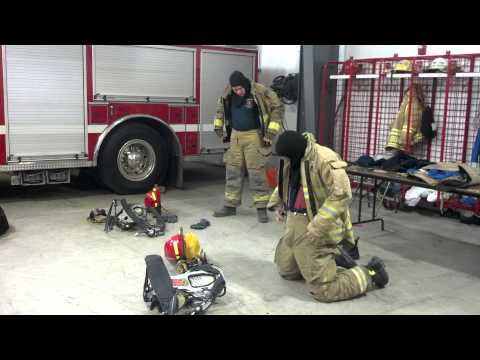Putting Turnout gear on extremely fast