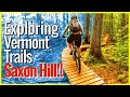 OOPS, I made her crash!!! 😳Riding Saxon Hill Trails with Single Track Sampler | NES Ep. #6