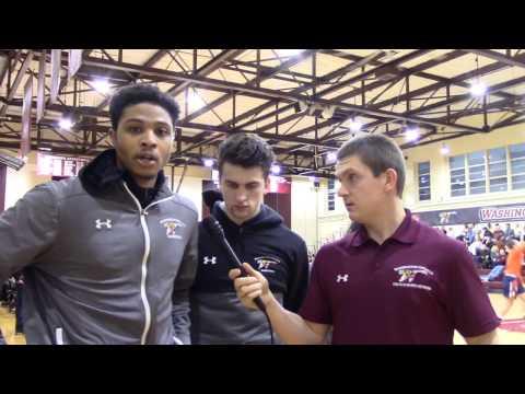 Washington College Basketball Sweeps Gettysburg- The Elm Sports Network